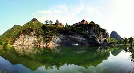 青狮潭水库于1958年由周恩来总理亲自审定规划的国家级大型水库,景区