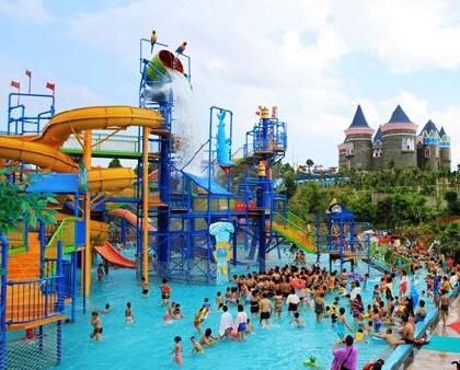 南宁凤岭水世界盛大开园了 市民又将新添游玩好去处