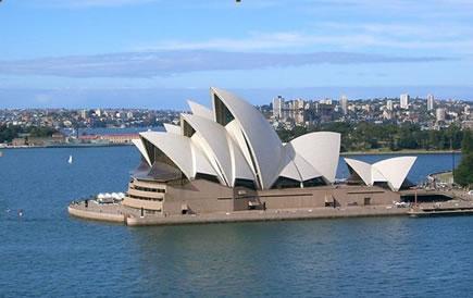 游览悉尼市区风景名胜