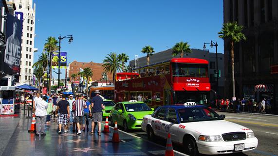 洛杉矶,拉斯维加斯,圣地亚哥,棕榈泉小组,加州小镇9天之旅游