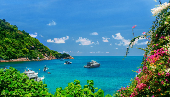 泰国普吉岛,大堡礁浮潜