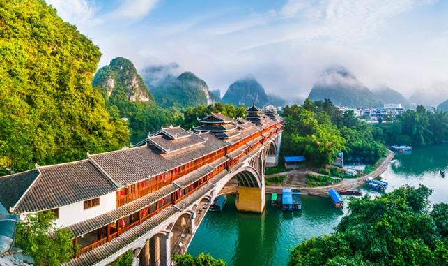 山水风景图片旅游地方